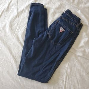 GUESS high waist skinny jeans